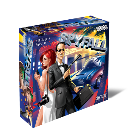 Cryptozoic Spyfall Board Game
