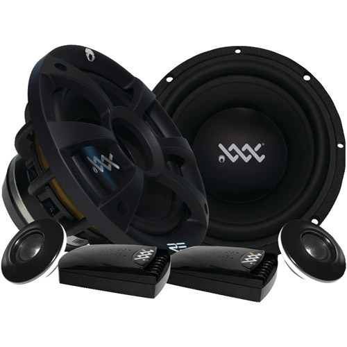 RE Audio XXX6.5C 6.5-Inch 2 Ohm Cast Component Kit