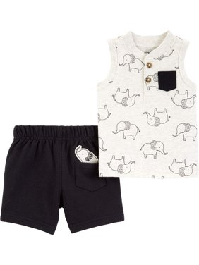 a81d675d Product Image Tank top and shorts outfit, 2 pc set (baby boys)