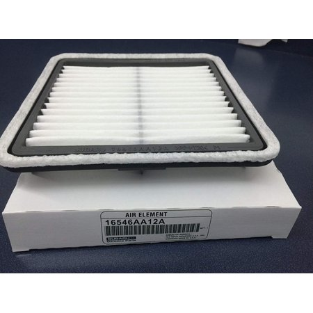 Subaru Forester Engine - OEM Genuine Engine Air Filter Element 16546AA12A Forester Impreza Legacy WRX STI 2008-2018, Genuine Subaru Engine Air Filter Element 16546AA12A Please see.., By Subaru,USA