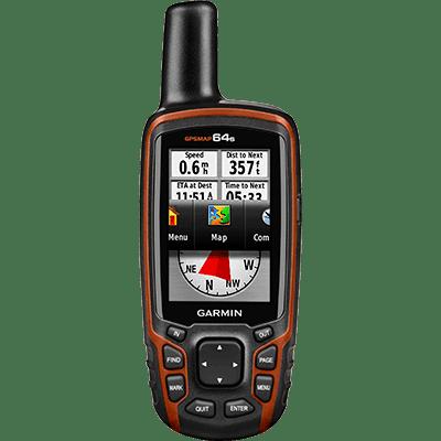 Garmin 010-01199-10 GPS-HH, GPSMAP 64s, Basemap, Alt+Comp