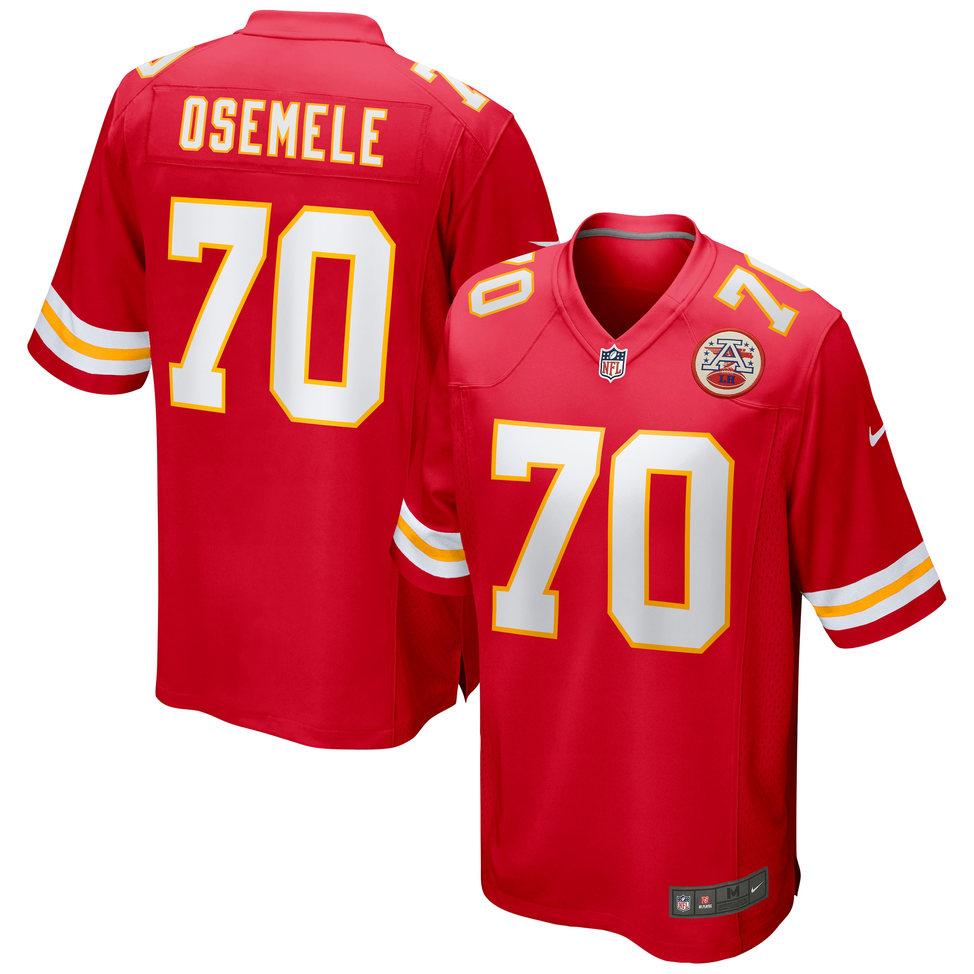 Kelechi Osemele Kansas City Chiefs Nike Game Jersey - Red - Walmart.com