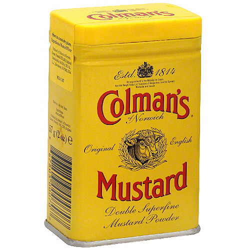 Colman's Of Norwich Hot Dry Mustard, 2 oz (Pack of 12)