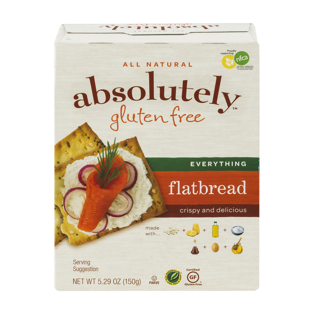 Absolutely Gluten Free Flatbread Everything, 5.29 OZ