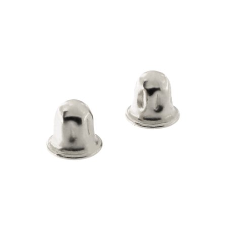 14k Yellow or White Gold Child Safe Screwback Earring Backing Replacements 14k Yellow Gold Replacement