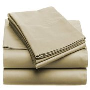 Solid 100GSM Luxury Microfiber Sheet Taupe -