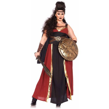 Leg Avenue Plus Size 3-Piece Regal Warrior Adult Halloween Costume - Halloween 3 Drill