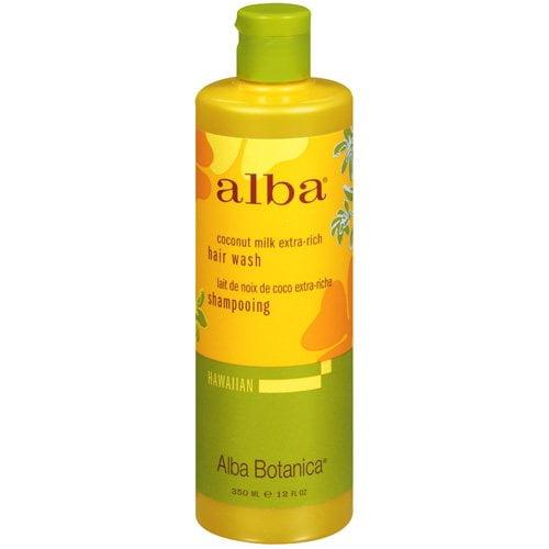 Alba Botanica Hawaiian Moisturizing Shampoo, Coconut Milk, 12 oz