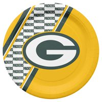 NFL Green Bay Packers Disposable Paper Plates, Pack of 20, 10 inch disposable paper plates, pack of 20 By Duck House