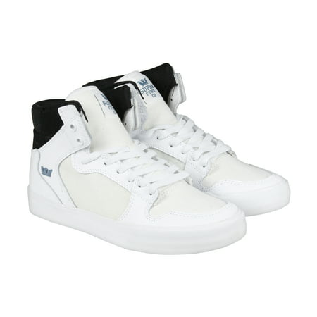 Supra - Supra VAIDER Mens White Synthetic High Top Lace Up Sneakers Shoes -  Walmart.com 2964dc9ef274
