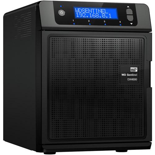 WD Sentinel DX4000 4TB Small Office Network Storage Server