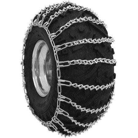 Atv V-Bar Tire Chains, 25X11X10, 2 Link -