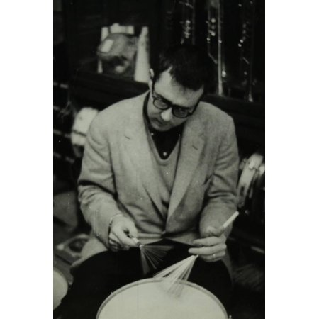 - Joe Morello, Drummer with the Dave Brubeck Quartet, 1950S Print Wall Art By Denis Williams