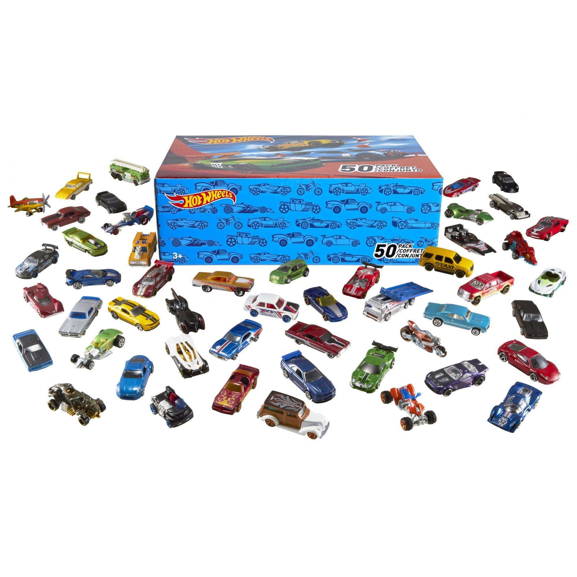 Hot Wheels 50 Car Gift Pack (Styles May Vary) by Mattel