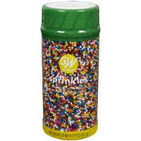 Wilton Rainbow Nonpareil Sprinkles, 7.5 oz.