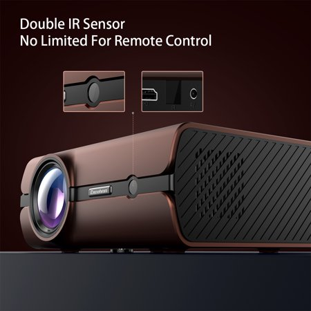 Excelvan BL46 Android 6 0 Multimedia LCD Projector 1G RAM 8G ROM Support  Bluetooth 4 0 1080P Wireless Connection With Smartphone Tablet Many