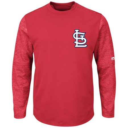 differently 6214e 30a04 St. Louis Cardinals Adult Tech Fleece Pullover Sweatshirt