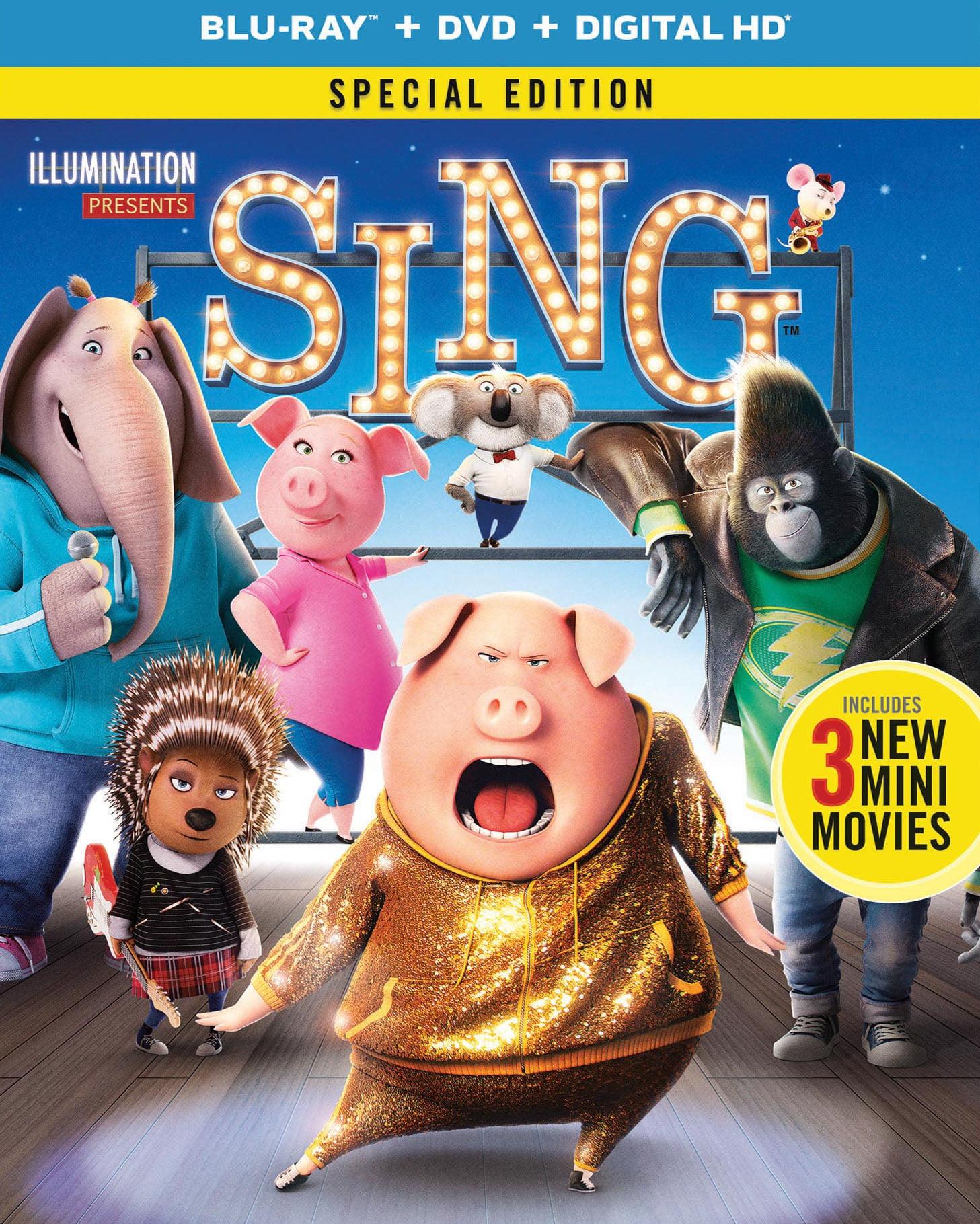 Sing (2016) 720p + 1080p BluRay x264 ESubs Dual Audio [Hindi DD5.1 + English DD5.1]