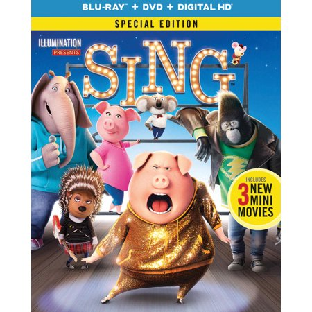 Sing (2016) (Special Edition) (Blu-ray + DVD + Digital