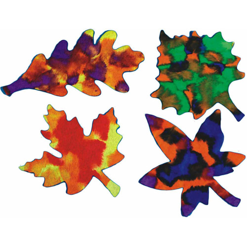 Color Diffusing Leaves, Pack of 200