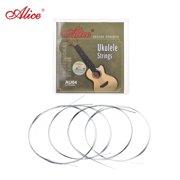 Alice AU04 Soprano Ukulele Ukelele Uke Strings Set(B-F-D-A) Clear Nylon (.022-.032)