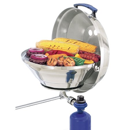 Magma Marine Stainless Steel Kettle Gas Grill (Best Marine Gas Grill)