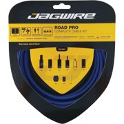 Jagwire Road Pro Complete Shift and Brake Cable Kit, SID Blue