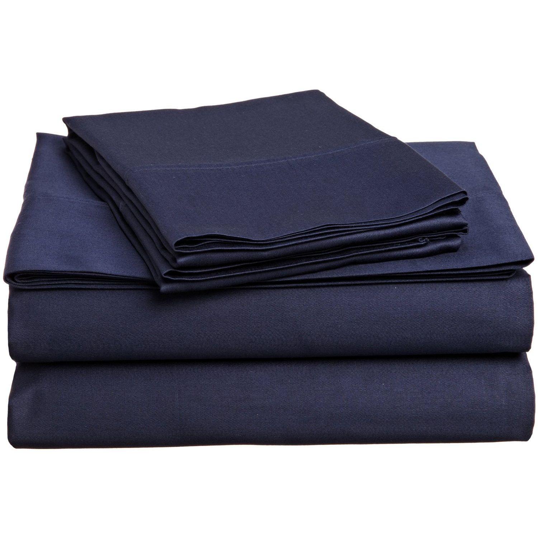 Superior 300 Thread Count 100% Premium Quality Cotton Solid Sheet Set