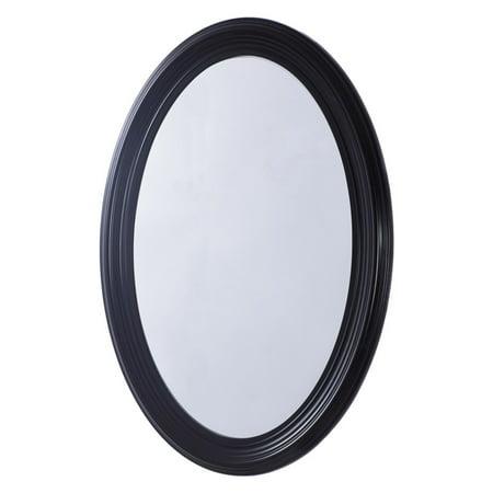 bellaterra home bellaterra oval frame mirror, pewter, 31 (Kichler Pewter Mirror)