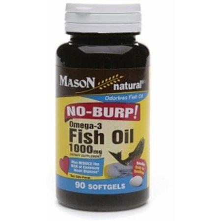 Mason natural no burp omega 3 fish oil 1000mg small for Why should i take fish oil