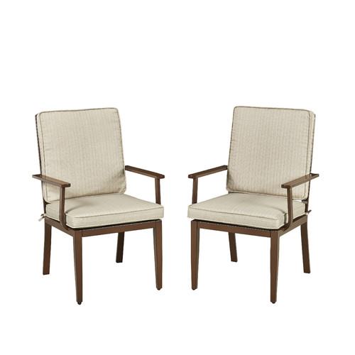 Home Styles Key West Dining Armchair with Cushion (Set of 2) by Home Styles