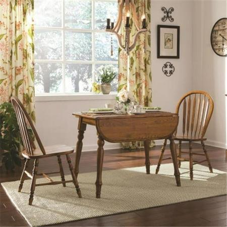 Brooks Furniture 193642 Laminate Top Drop Leaf Table, Legacy Oak ...