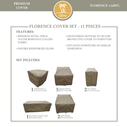 TK Classics Florence 11 Piece Cover Set