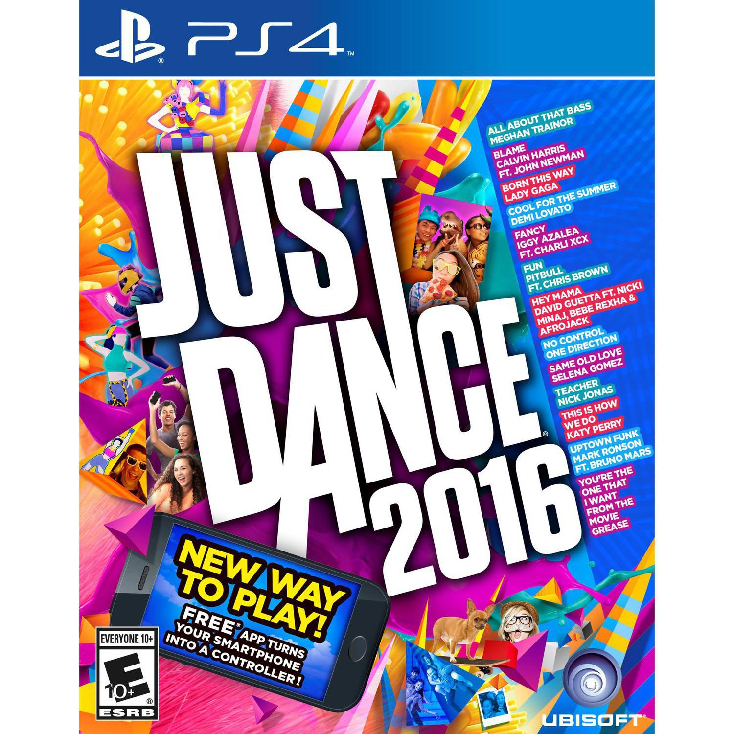 Just Dance 2016, Ubisoft, PlayStation 4, 887256013981