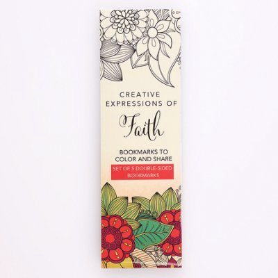 Bkmk-Coloring Bookmarks Faith (Other)