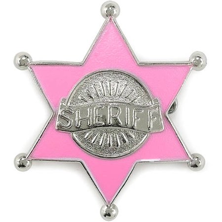 Pink Sheriff Badge - Sheriffs Badges