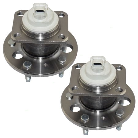 Pair Set of Rear Wheel Hub Bearings Replacement for Chevrolet Oldsmobile Buick Pontiac Van 7470549 Hub Assy Rear Wheel