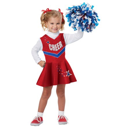 Toddler Classic Cheerleader Halloween - Cheerleader Toddler Costume