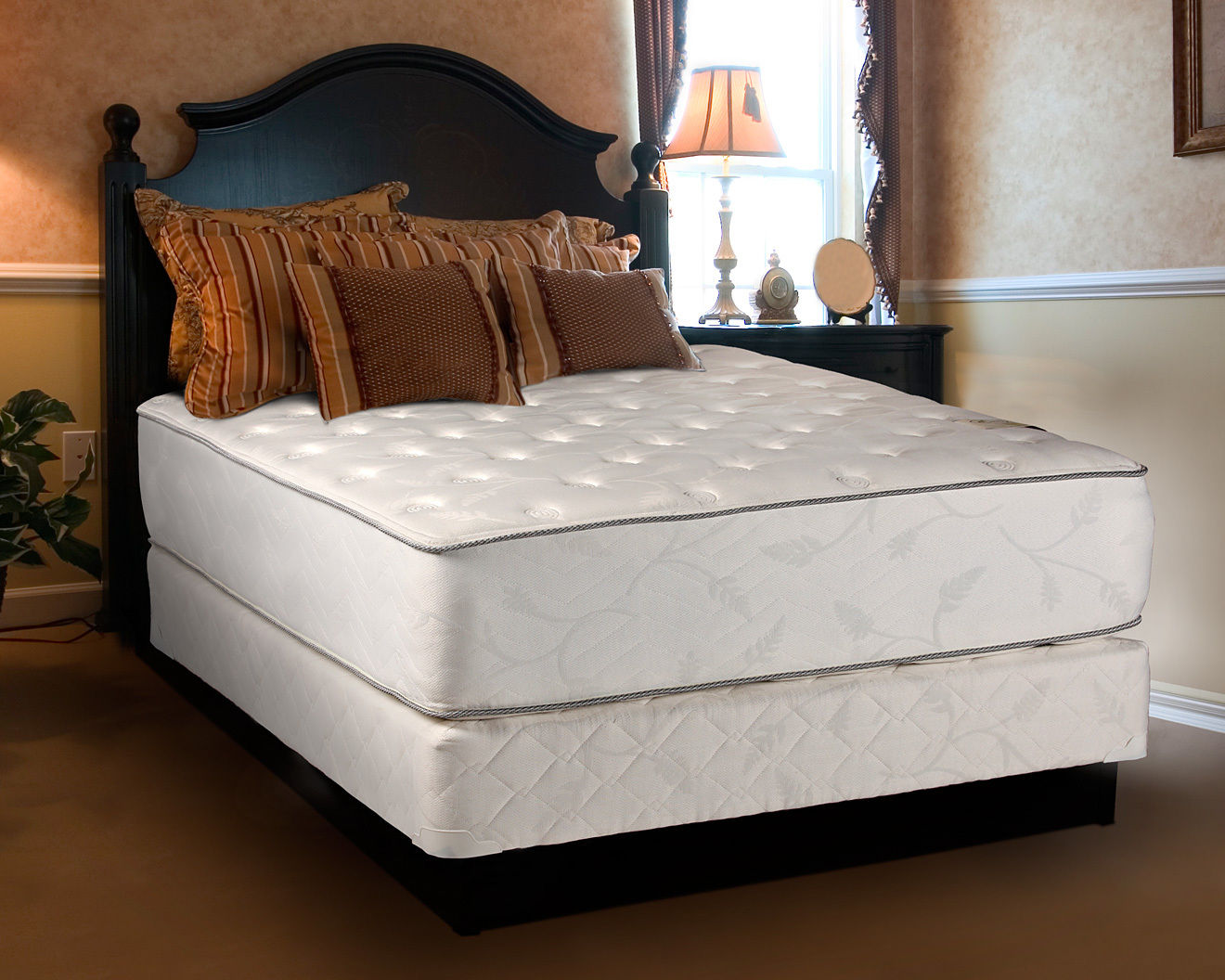 dream solutions exceptional plush 12 queen mattress and box spring set. Black Bedroom Furniture Sets. Home Design Ideas