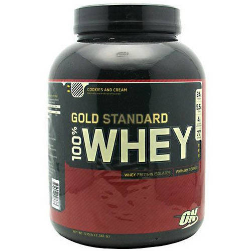 Optimum Nutrition 100% Whey Gold Standard Cookies and Cream, 5.15 LB