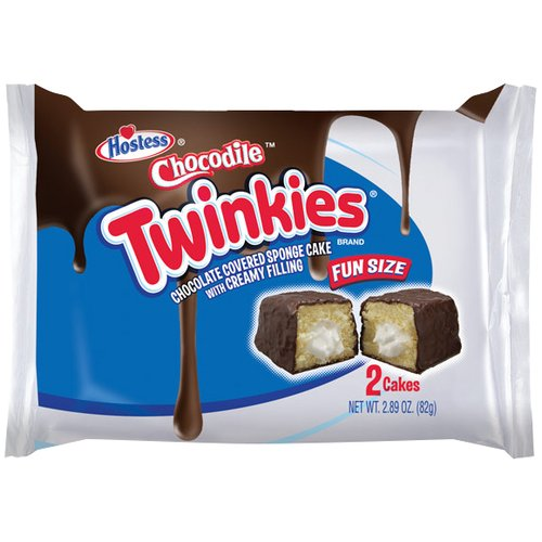 Hostess Chocodile Twinkies Fun Size Snack Cakes, 2 ct, 2.89 oz