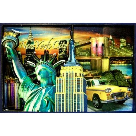 New York Signature Montage Magnet ()