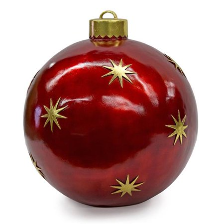 Autograph Foliages J-171800 24 in. Christmas Ball Ornament, Multicolor ()
