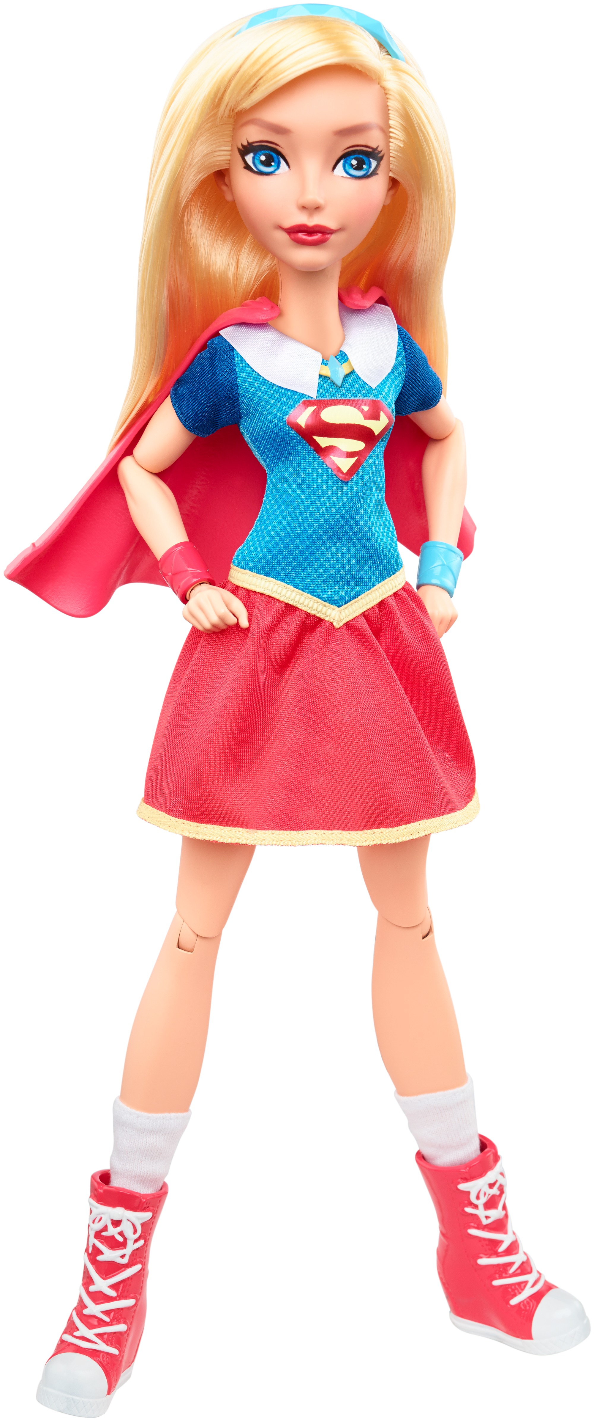 "DC Super Hero Girls Supergirl 12"" Action Doll by MATTEL INC."