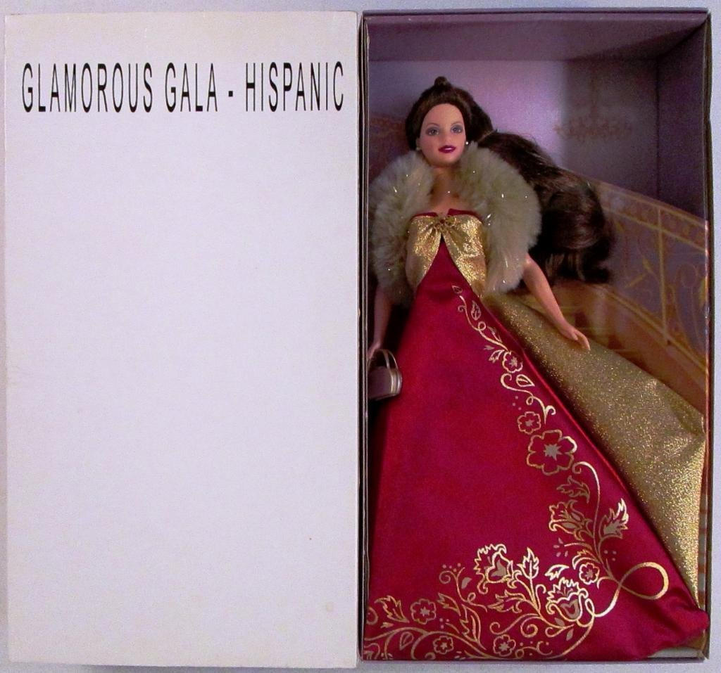 Brunette Glamorous Gala Exclusive Barbie Doll by, Avon Ex...