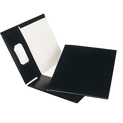 PORTFOLIO-TWIN POCKET RECYCLED,BLACK - image 1 of 1