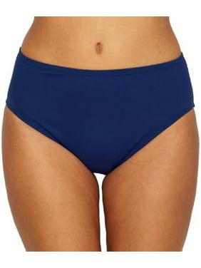 24th & Ocean Womens Solid Shaping Bikini Bottom Style-TF9G699