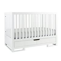 Karla Dubois Oslo 2-in-1 Convertible Crib- Pure White