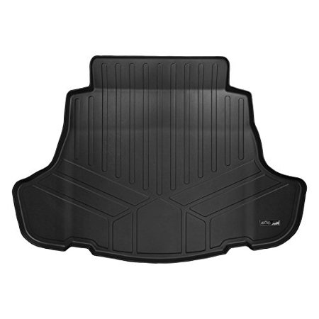 MAXLINER D0330 Maxtray All Weather Cargo Liner Floor Mat Black for 2018 Toyota Camry (All Models Including Hybrid) (2018 Camry All Weather Floor Mats)