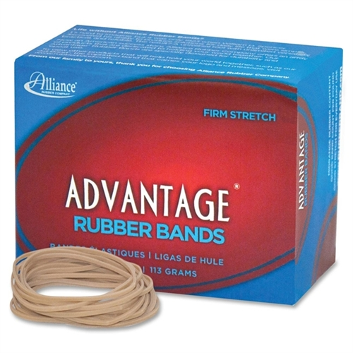 "Advantage Rubber Bands Size 18 1/4LB 3""X1/16"" Natural 26189"